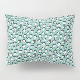 Pattern Project / Faces Pillow Sham