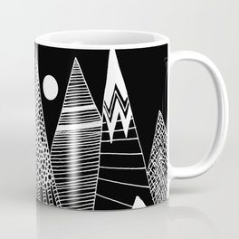 Patterns in the mountains Coffee Mug