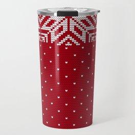 Pattern in Grandma Style #31 Travel Mug