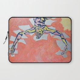 Silver Tectonic Laptop Sleeve