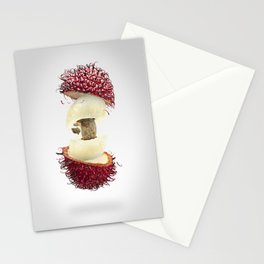 Flying Rambutan Stationery Cards