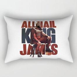 king james Rectangular Pillow