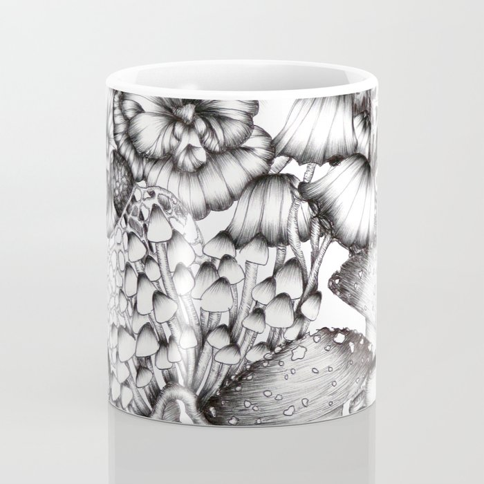 A Medley of Mushrooms Coffee Mug
