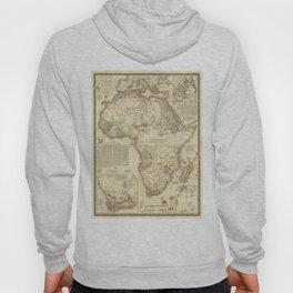 Vintage Map of Africa (1828) Hoody