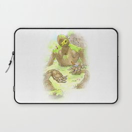 Castle Guardian Robot Laptop Sleeve