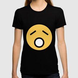 Smiley Face   Sad Sleepy Looking T-shirt