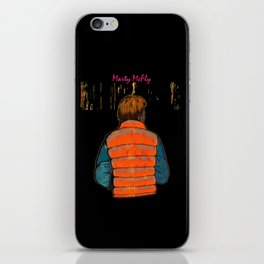 marty iPhone Skin