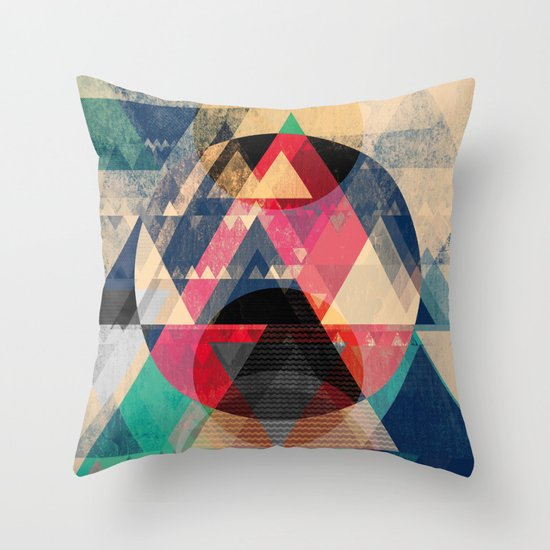 Graphic 102 Throw Pillow
