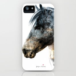 Horse (Into the wild) iPhone Case