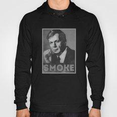 Smoke! Funny Obama Hope Parody (Smoking Man)  Hoody