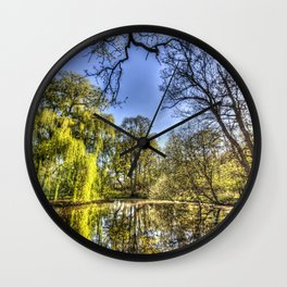 The Willow Tree Pond Wall Clock
