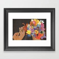 BANG Framed Art Print