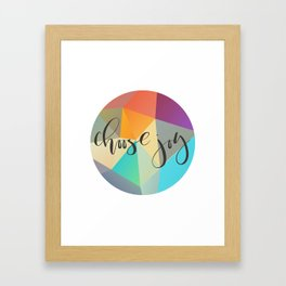 Choose Joy (Crystal) Framed Art Print