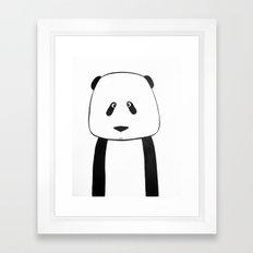 No. 007 - Modern Kids and Nursery Art - The Panda Framed Art Print