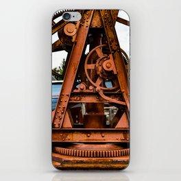 The Old Rusty Ship Crane iPhone Skin