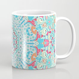 BOHO SUMMER JOURNEY MANDALA Coffee Mug
