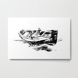 An Old Boat Metal Print