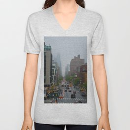 Foggy Unisex V-Neck
