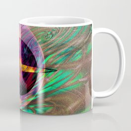 Large Wall Art- Home Deco- Interior Design- New Age Art- Yoga Art Coffee Mug