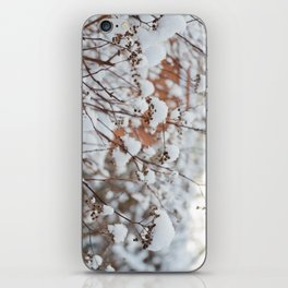 Bush in the Snow iPhone Skin