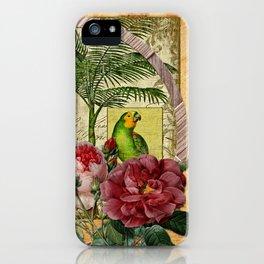 Beija Rosas iPhone Case