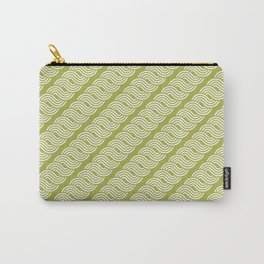 shortwave waves geometric pattern Carry-All Pouch