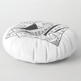 daydreamer nighthinker II Floor Pillow