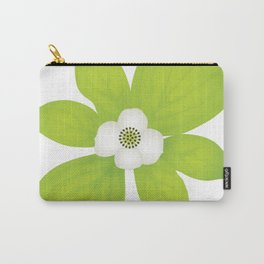Bunchberry Dogwood - PNW Forest Wildflower Carry-All Pouch