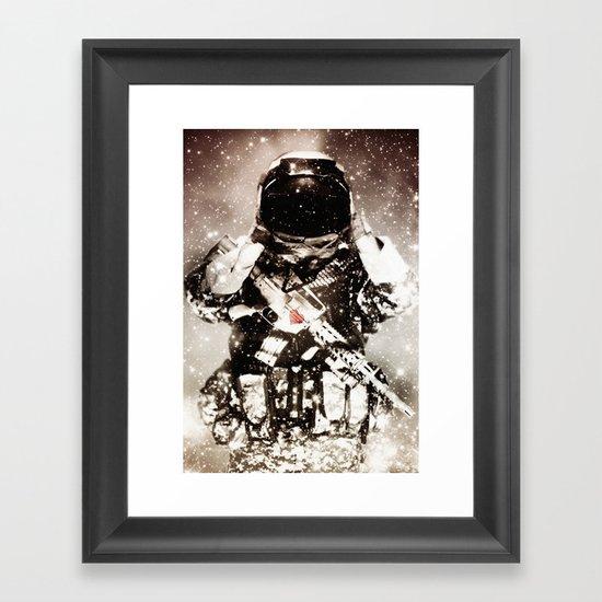 Over the Moon Framed Art Print
