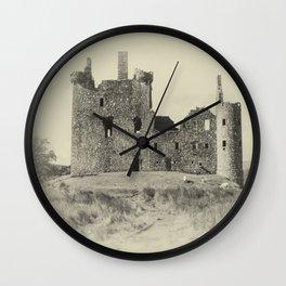 Kilchurn Castle 3 Wall Clock