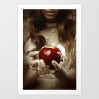 fairy tale Art Prints featuring Fairy Tale by Judy Hung