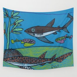 Spotted Catshark Wall Tapestry