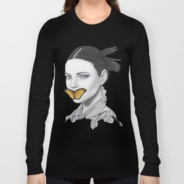 Speak No Evil - Flower Girl Series Long Sleeve T-shirt