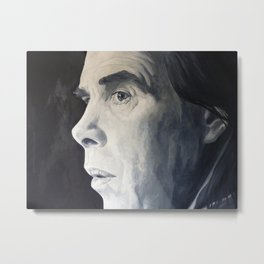 Mr Nick Cave Metal Print