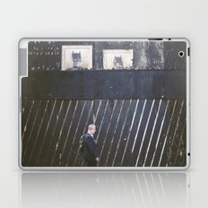 Black Wall Laptop & iPad Skin