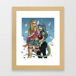 Purple Carnival Cover 1 Framed Art Print
