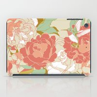 party iPad Cases featuring garden party by Teagan White
