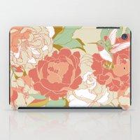 garden iPad Cases featuring garden party by Teagan White