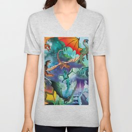 Wings Of Fire Character Unisex V-Neck