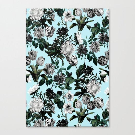 Summer Botanical Garden Canvas Print