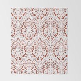 Sanguine Vintage Pattern Throw Blanket