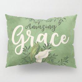 Amazing Grace (green) Pillow Sham
