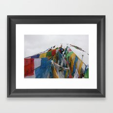 The Roof of the World Framed Art Print