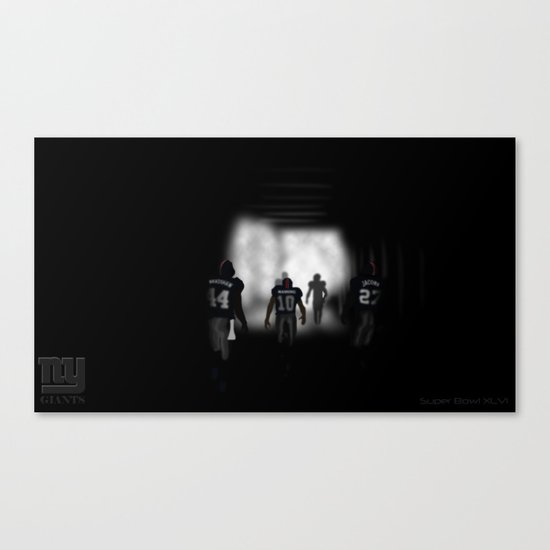 NY Giants Super Bowl XLVI Canvas Print