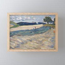 Wassily Kandinsky - Landschaft mit gelbem Feld Framed Mini Art Print