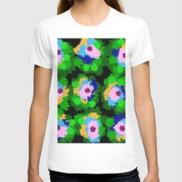 Flowers for Jackson Pollock, Matisse and Van Gogh. T-shirt