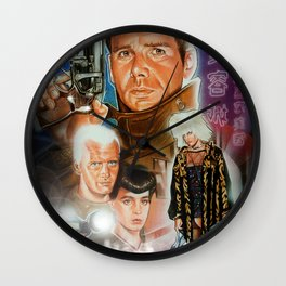 Blade runner Wall Clock