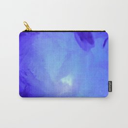 Textures (Blue version) Carry-All Pouch