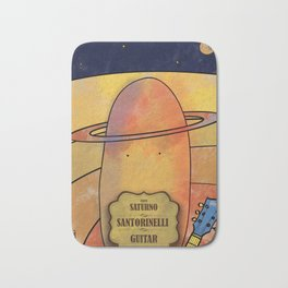 torinelli from Saturn (Guitars) Bath Mat