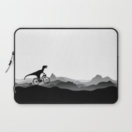 DINO Bicycle - Dinosaur on bicycle - T-rex - Dino Collection Laptop Sleeve
